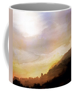 Coffee Mug featuring the painting Good Morning by Mark Taylor