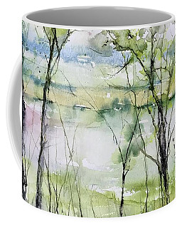 Good Morning On Da Bayou Faciane Coffee Mug by Robin Miller-Bookhout