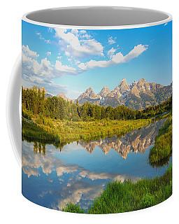 Good Morning Tetons Coffee Mug