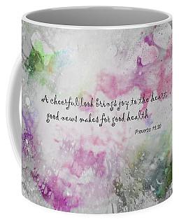 Good News Produces Good Health Coffee Mug