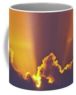 Coffee Mug featuring the photograph Good Night Sunshine by Terri Waters
