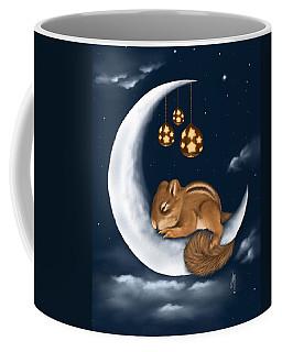 Coffee Mug featuring the painting Good Night by Veronica Minozzi