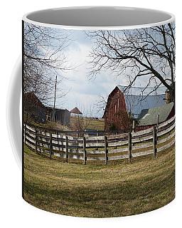 Good Old Barn Coffee Mug by Donald C Morgan