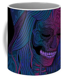 Good Vibes Skelegirl Coffee Mug