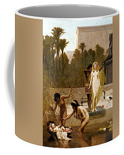 Goodall Frederik The Finding Of Moses Coffee Mug by Frederick Goodall
