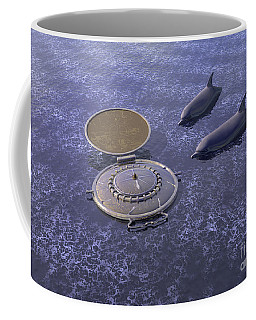 Goodbye Humankind - Surrealism Coffee Mug