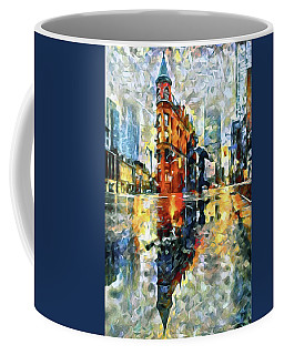 Gooderham Flatiron Building In The Rain Coffee Mug