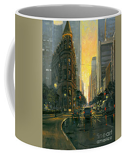 Gooderham Sunset Coffee Mug by Michael Swanson