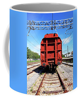 Goods Wagon Coffee Mug by Don Pedro De Gracia