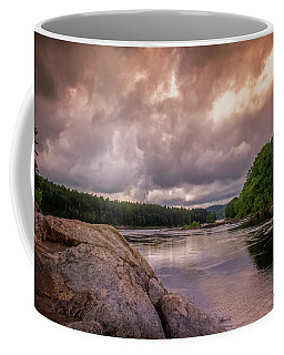 Coffee Mug featuring the photograph Googin's Island by Guy Whiteley