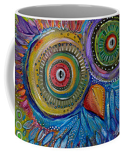 Googly-eyed Owl Coffee Mug
