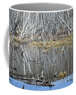 Goose Among The Reflections Coffee Mug