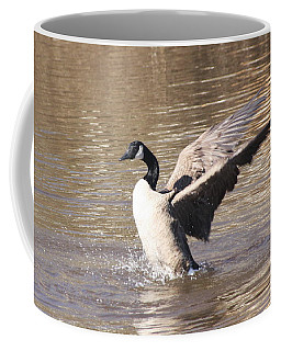 Goose Flapping Wings Coffee Mug