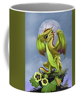 Coffee Mug featuring the digital art Gooseberry Dragon by Stanley Morrison