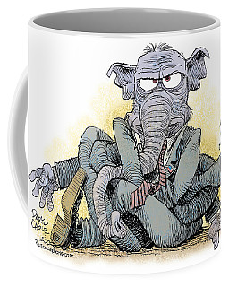 Gop Tied Up In A Knot Coffee Mug