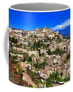 Coffee Mug featuring the photograph Gordes by Olivier Le Queinec