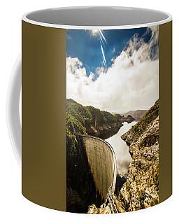 Gordon Dam Tasmania  Coffee Mug