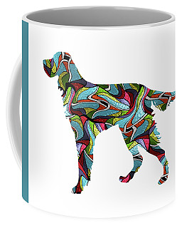 Gordon Setter Spirit Glass Coffee Mug