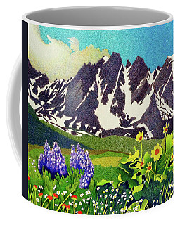 Gore Range Wildflowers Coffee Mug