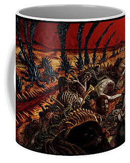Gored-explored Coffee Mug