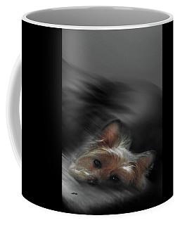 Yorkie Joy Painting Coffee Mug