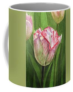 Gorgeous Tulip Watercolor Realism  Coffee Mug