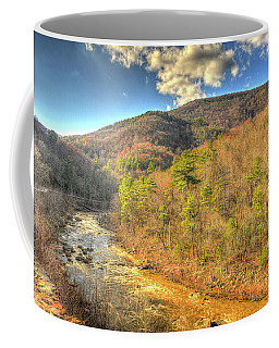 Goshen Pass In Late Fall Coffee Mug
