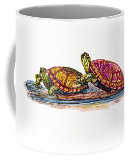 Spring Turtles Coffee Mug