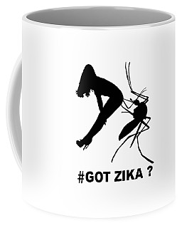 Got Zika? Coffee Mug by Peter Gumaer Ogden