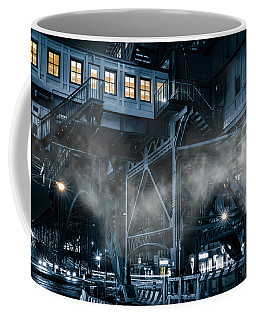 Gotham City Coffee Mug by Mihai Andritoiu