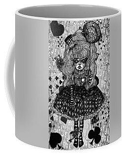 Gothic Cute Girl Coffee Mug by Akiko Okabe