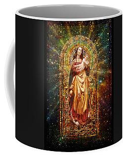 Gothic Madonna And The Child Coffee Mug