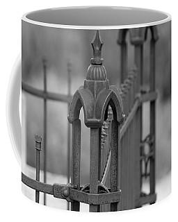 Gothic Ornamental Fence In Boothill Coffee Mug