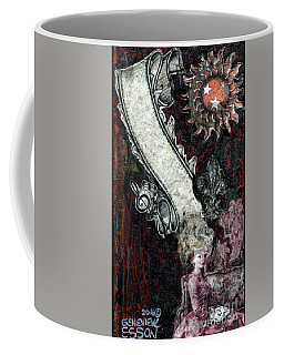 Gothic Punk Goddess Coffee Mug by Genevieve Esson
