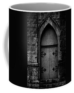 Gothic Door Memphis Church Bw Coffee Mug