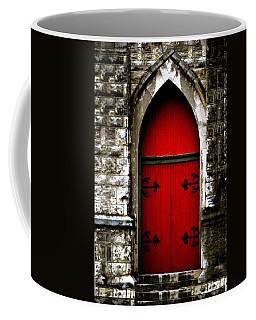 Gothic Red Door Memphis Church Coffee Mug