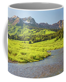 Gothic Valley - Early Evening Coffee Mug by Eric Glaser