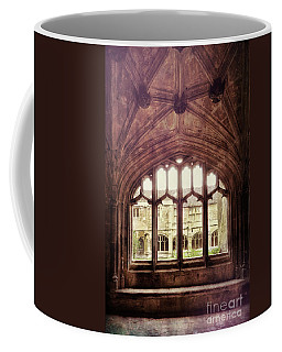 Coffee Mug featuring the photograph Gothic Window by Jill Battaglia