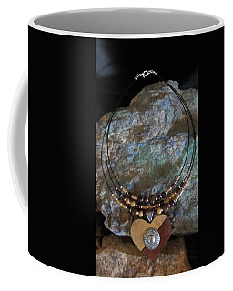 Gourd Button Heart H91 Coffee Mug
