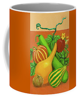 Gourds Orange No Letterings Coffee Mug