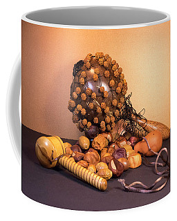 Gourd Rattle Bali Musical Instrument From Bali With Buckeyes Coffee Mug
