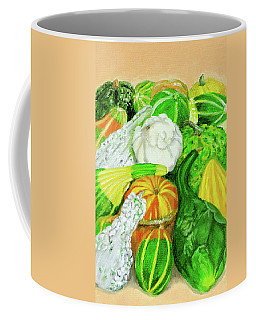 Gourds Seed Packet No Lettering Coffee Mug