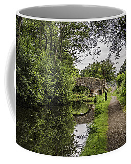 Goytre Wharf  Bridge Coffee Mug