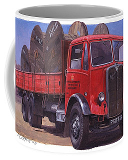 Gpo Maudslay Six-wheeler. Coffee Mug by Mike  Jeffries