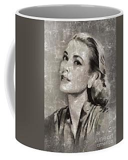 Grace Kelly By Mary Bassett Coffee Mug