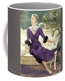 Grace Kelly Draw Coffee Mug