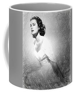 Grace Kelly Sketch Coffee Mug