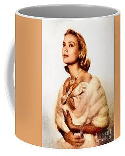 Grace Kelly, Vintage Actress By John Springfield Coffee Mug