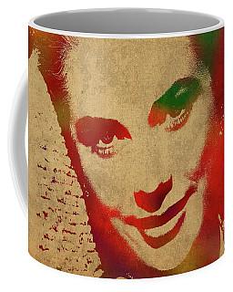 Grace Kelly Watercolor Portrait Coffee Mug