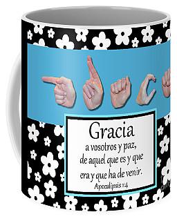 Grace Spanish - Bw Graphic Coffee Mug